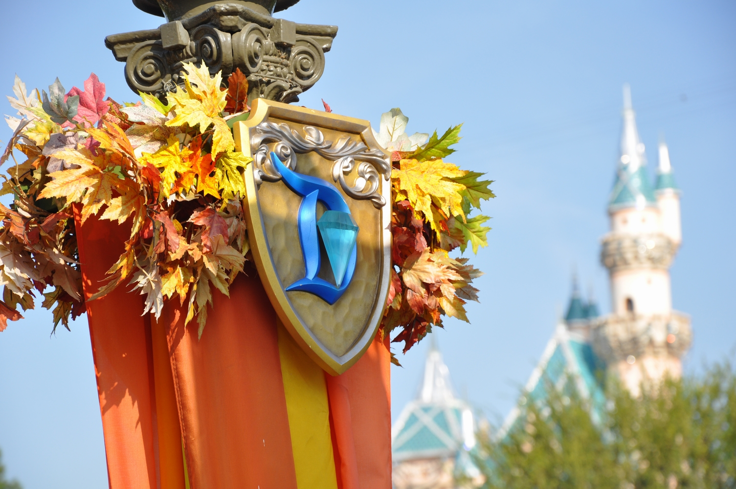 Disneyland w Anaheim