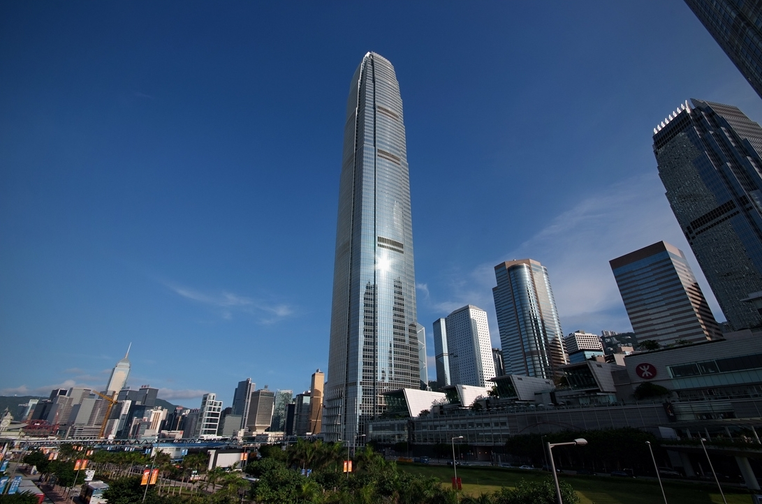 415m, International Finance Center w Hongkongu
