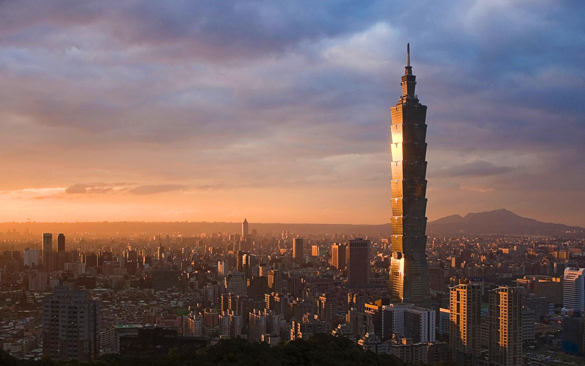 509m, Taipei 101 Tower w Taipei