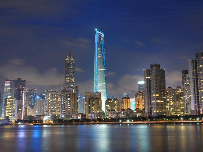 492m, World Financial Center w Szanghaju
