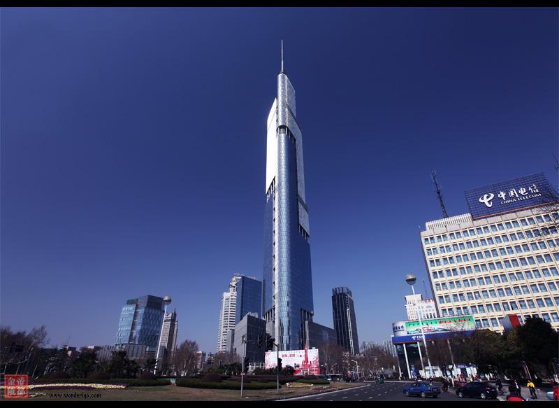 450m, Greenland Financial Center w Nanjing