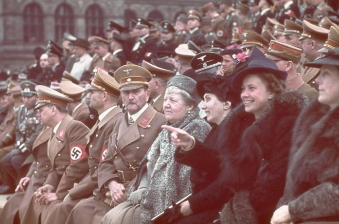 1939, 50-te urodziny Hitlera w Berlinie