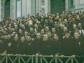 1938, włoscy faszyści witają Hitlera