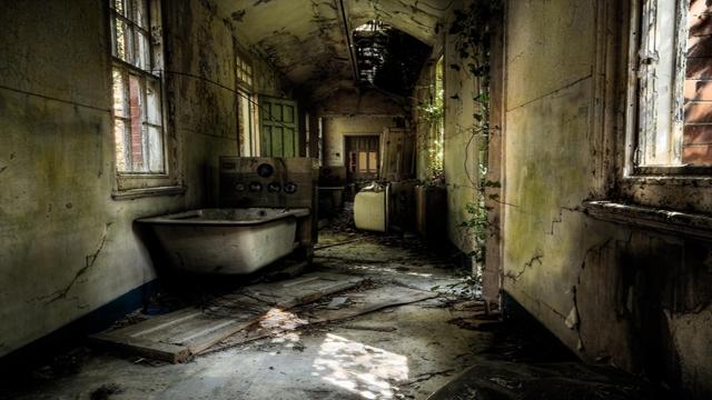 Szpital Hellingly niedaleko Londynu