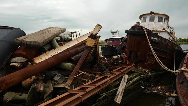 Cmentarzysko łodzi na Staten Island