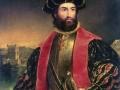 Vasco da Gama (1460-1524) - jako pierwszy dotarł drogą morską z Europy do Indii